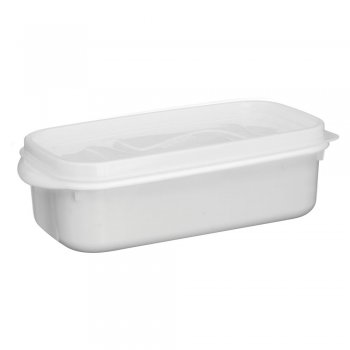Caixa Organizadora Du Cheff 2,0 l Branca c/ tampa