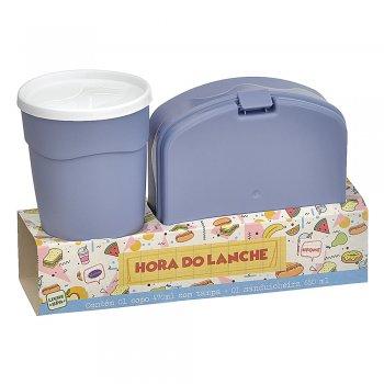 Kit c/ 1 Sanduicheira + 1 copo c/ tampa 470 ml