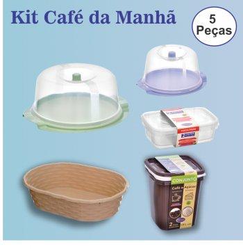 Kit Café da Manhã - 5 Peças